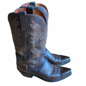 Lucchese 1883 Mad Dog Snip Toe Men's Western Boots
